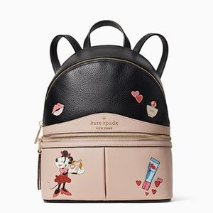 Kate Spade Disney Minnie Mouse Leather Backpack